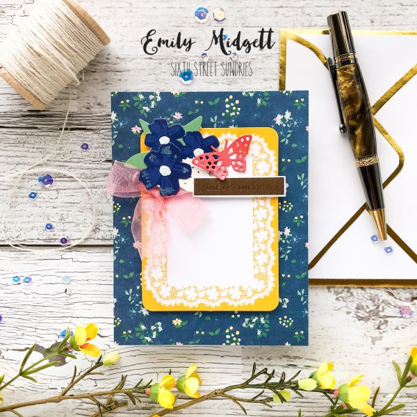 Spellbinders May Card Kit of the Month!
