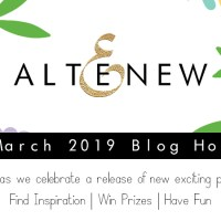 Altenew March 2019 Stamp and Die Release+Giveaway!