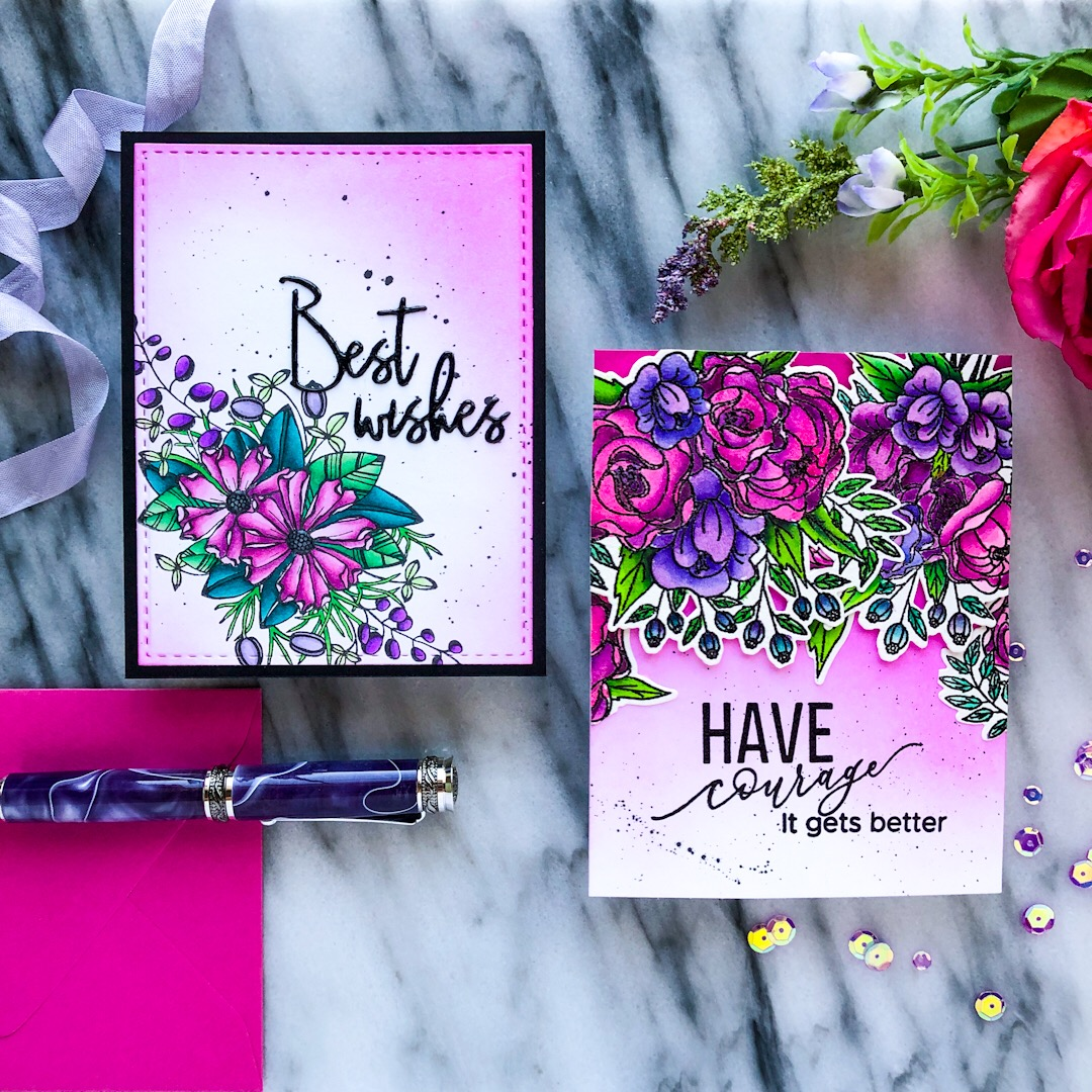 Pinkfresh Studio April Stamp and Die Release!