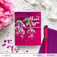 Altenew Build A Flower: Fuchsia Blog Hop+Giveway!