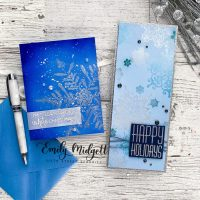 Frosty Snowflakes+Perfect Pearls with Colorado Craft Company!