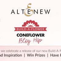 Altenew Build-A-Flower: Coneflower Release Blog Hop + Giveaway