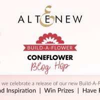 Altenew Build-A-Flower: Coneflower Release Blog Hop + Giveaway