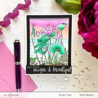 Altenew Paint-A-Flower: Lotus Outline Stamp Set Release Blog Hop + Giveaway ($200 in Total Prizes)