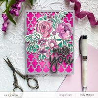 Altenew Summer Adventure Stand-alone Dies Collection Release Blog Hop + Giveaway