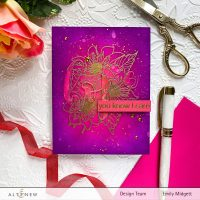 Altenew Paint-A-Flower: Fashion Monger Dahlia Outline Stamp Set Release Blog Hop + Giveaway