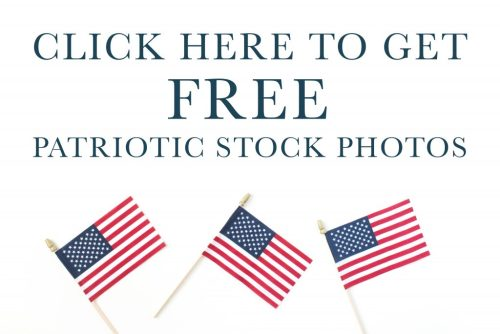 Free Patriotic Styled Stock Images for Small Business Owners and Lady Bosses