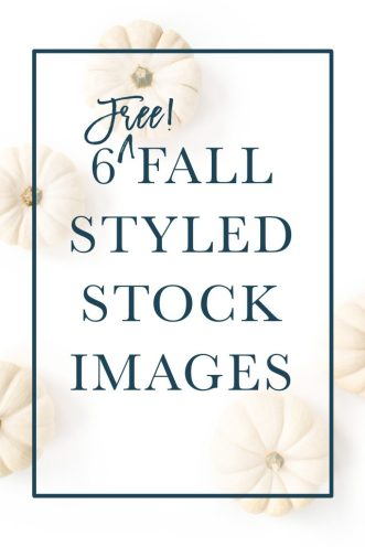 6 Free Fall Styled Stock Images for Small Business Owners and Lady Bosses | White Pumpkin Stock Photo