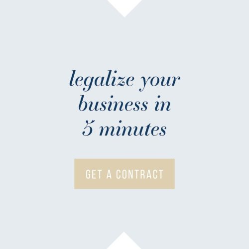 Legalize Your Business in 5 Minutes with Contracts | The Contract Shop | Emily Moore Photo