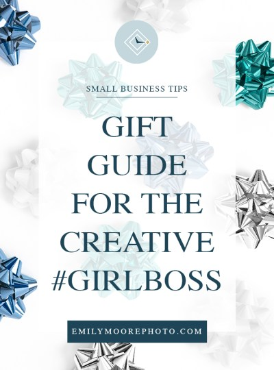 Gift Guide for the Creative Girlboss