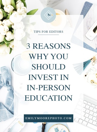 3 Reasons Why You Should Invest in In-Person Education