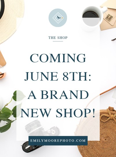 Coming June 8th: A Brand New Shop!
