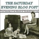 Saturday Evening Blog Post: January 2010
