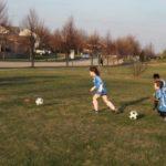Soccer starting
