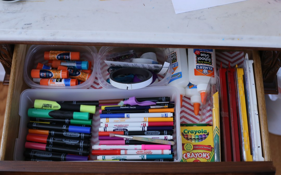 The New Me: Clearing the clutter and organizing our spaces