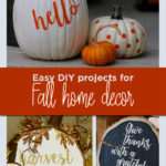 Easy DIY projects for fall home decor