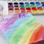 Five ideas to get started with an art journal