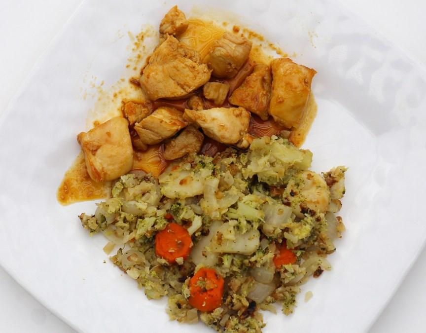"Veggie fried ""rice"""