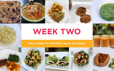 Four-week Paleo meal plan: Week Two