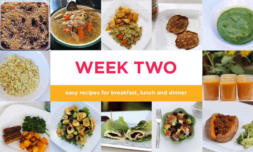Four-week Paleo meal plan: Week Two