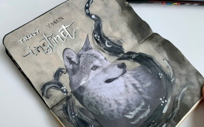 My May art journal