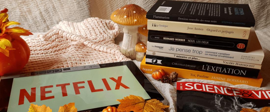 Pumpkin Autumn Challenge 2019 Pile à lire Emily Nols Auteur