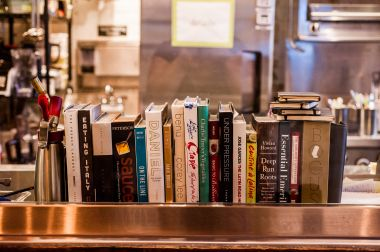 Chef Ryan Peters' selection of cookbooks