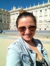 In front of the Palace!