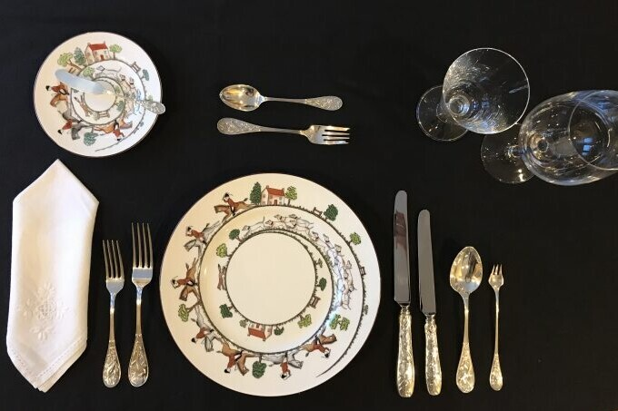 proper table setting 101 everything