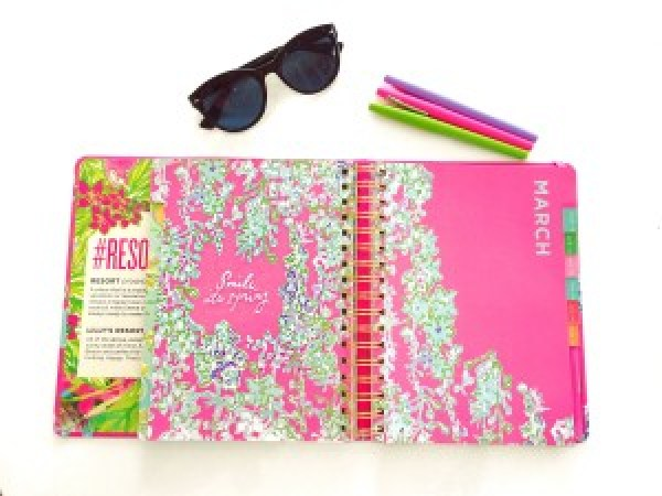 Lilly Pulitzer Agenda Spring March