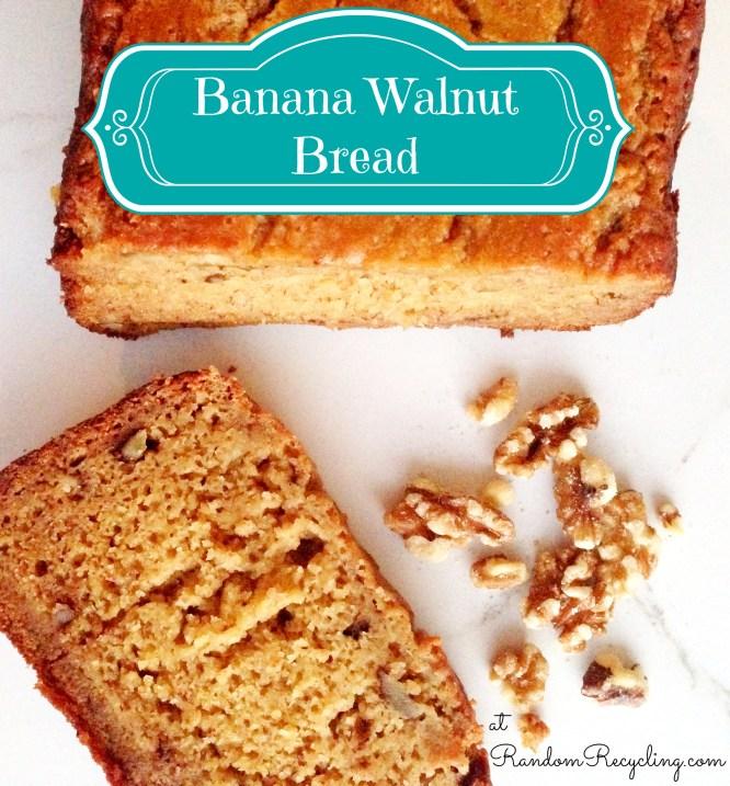 banana walnut bread recipe for a bread machine
