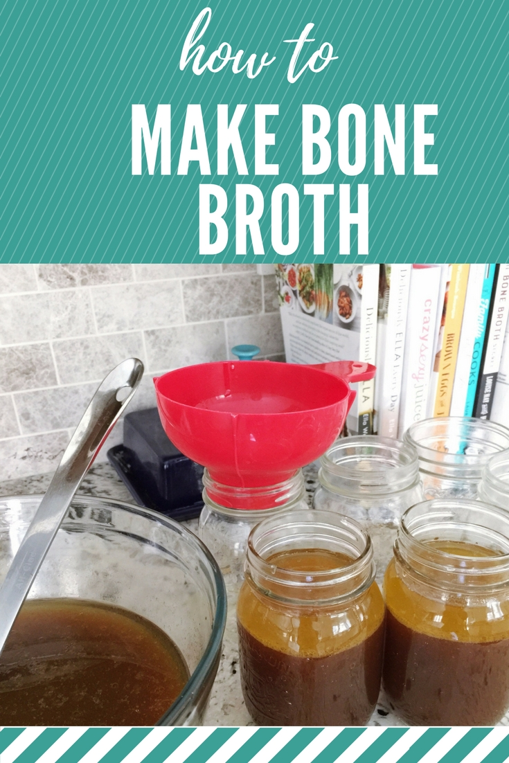 How to Make Bone Broth, recipe for beef bone broth
