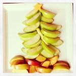 Apple Christmas Tree appetizer