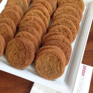Chewy Molasses Spice Cookie
