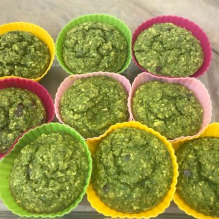 Easy Green Smoothie Muffin Recipe