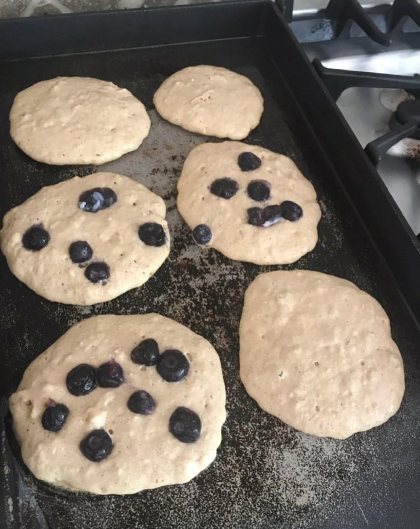 Blueberry Gluten Free Pancake Recipe