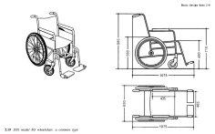 Wheelchair dimensions