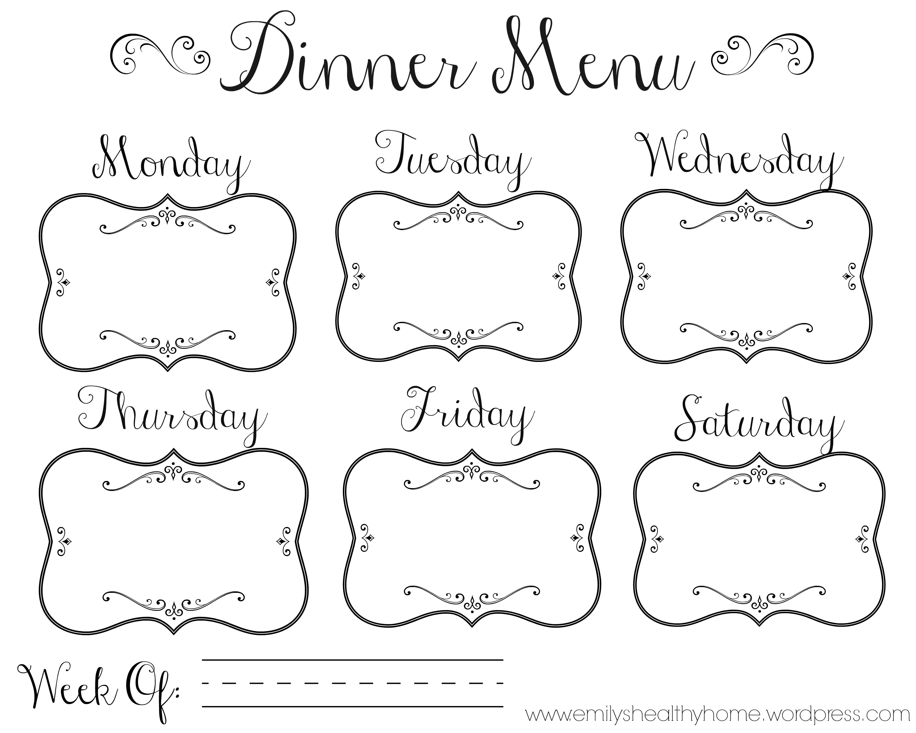 Meal Planning Monday 1 Emily S Healthy Home
