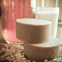 Oatmeal, Goat's Milk and Honey Soap