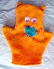 Washcloth Puppet