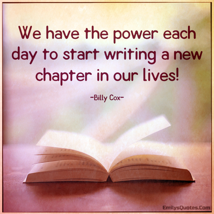 Image result for chapters in our lives quotes
