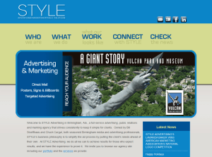 STYLE Advertising Website