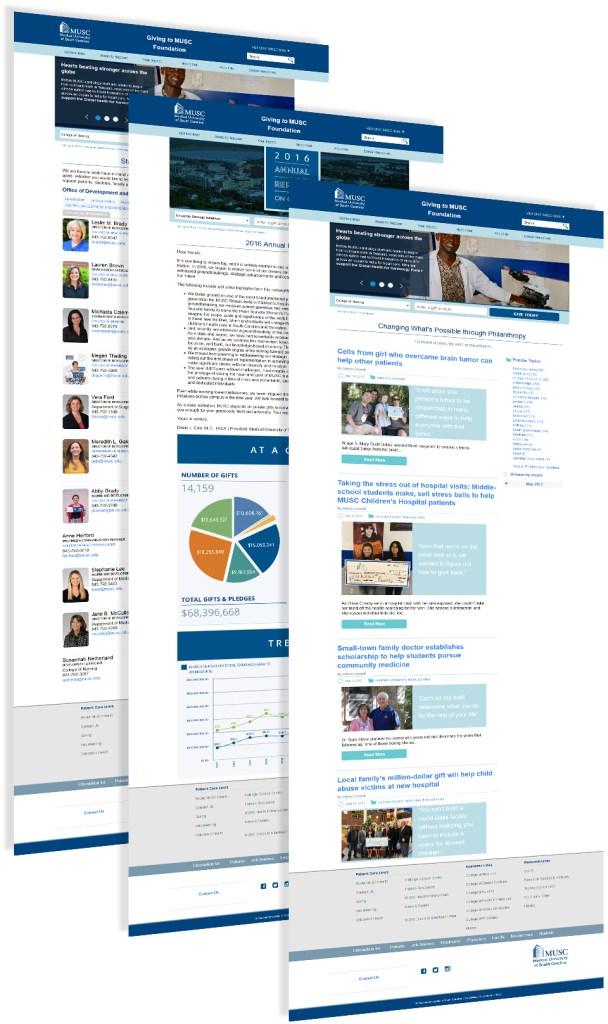 MUSC Foundation Website