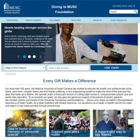 MUSC Giving Website
