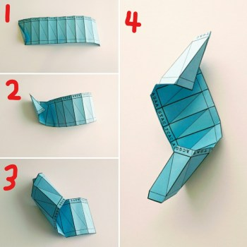 This Mortal Coil DNA Origami Instructions Part 4