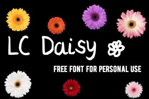LC Daisy font