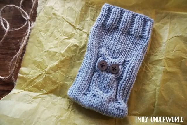 owl-phone-sock