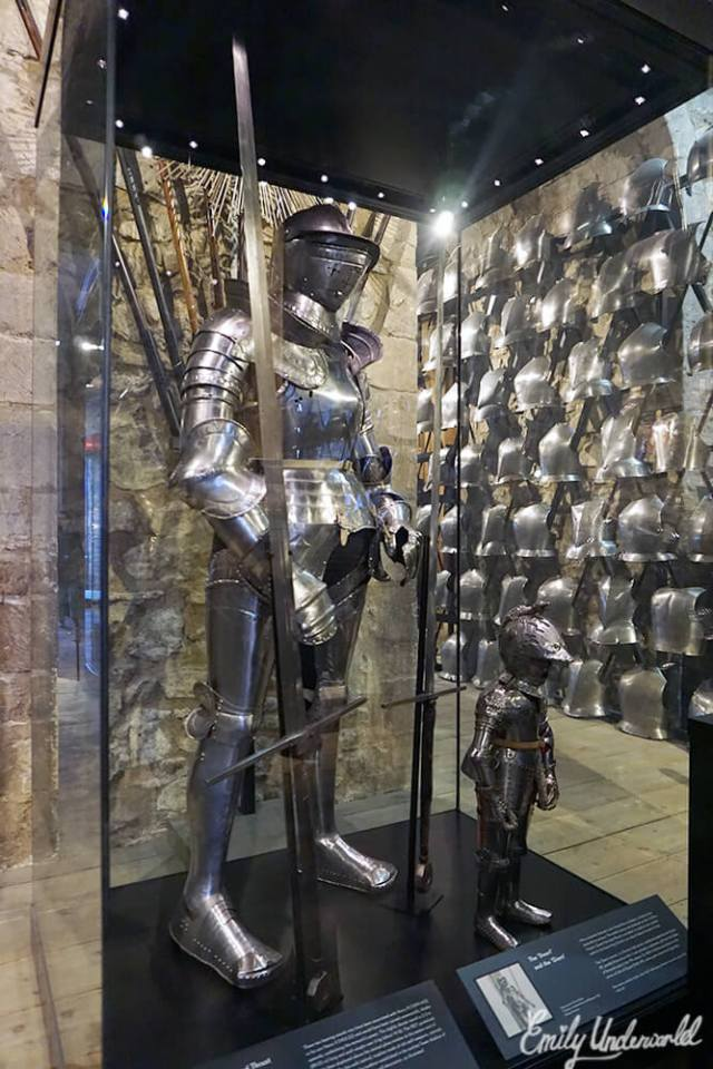 The Tower of London Suits of Armour