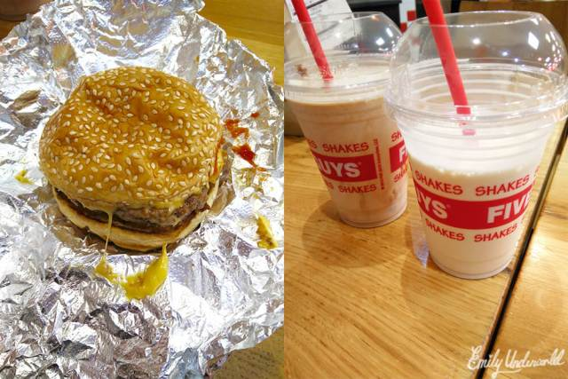 Five Guys Burgers and Milkshakes