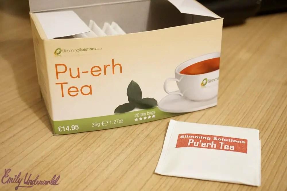 Slimming Solutions Pu-erh Detox Tea